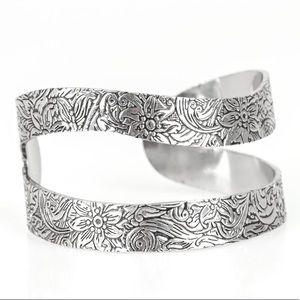 Jewelry - Garden Goddess - Silver Cuff Bracelet Jewelry